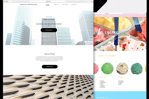 Crear un sitio web fácilmente