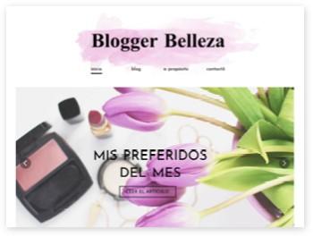 exemple de blog de beauté