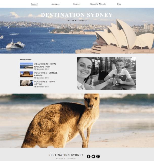Destination Sydney