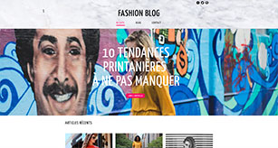 exemple de blog de mode