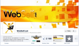 Page Facebook de WebSelf